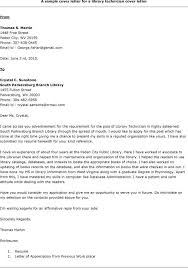 best solutions of cover letter for library page job also service