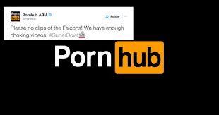 Pornhub Meme - pornhub brutally trolls atlanta falcons on twitter after super