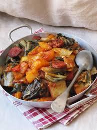cuisiner des blettes la cuisine d ici et d isca blettes au chorizo et aux tomates