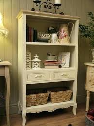shabby bookcase shabby chic bookcases chic bookcase shelves cream