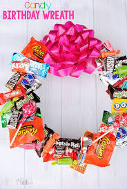 25 unique candy birthday cards 25 unique candy wreath ideas on candy wreath