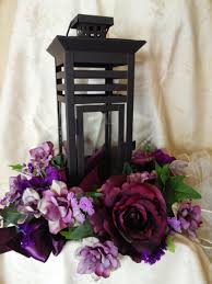 Centerpieces With Candles For Wedding Receptions by Centerpiece For Wedding Reception With Candle Lantern Ivy And