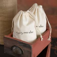 best 25 bridal shower favors 25 happily after cotton wedding bridal shower favor bags