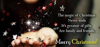 wishes for friends and family messages merry