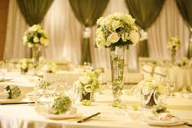 venue decoration maples flowers