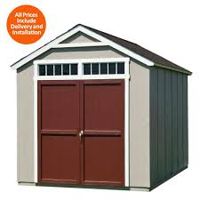 wood sheds the home depot installed