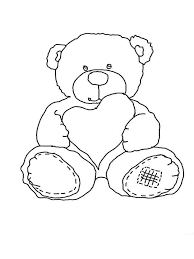 teddy bears coloring pages download print teddy bears