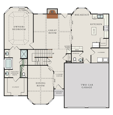 Av Jennings Floor Plans Gentry Ashcroft Simpsonville South Carolina D R Horton