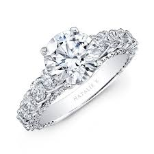 classic diamond rings images Platinum classic diamond engagement ring jpg