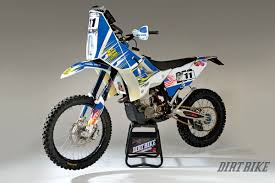husqvarna motocross gear dirt bike magazine a rally bike for the real world