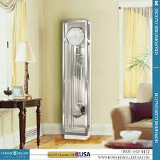 modern grandfather clock howard miller seville grandfather clock