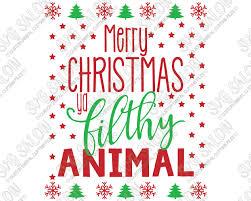 merry ya filthy animal home alone custom diy