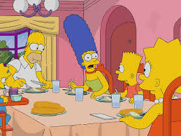 the simpsons thanksgiving bingo videology bar cinema things