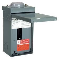 shop square d 4 circuit 2 space 70 amp main lug load center at