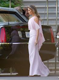 melania trump attends wedding in jaw dropping the daily caller