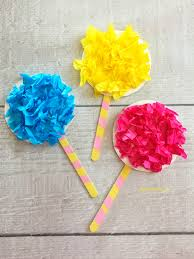 truffula trees craft inspired by the lorax about a