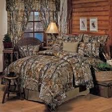 Camo Shower Curtain Realtree Hardwoods Comforter Set Queen