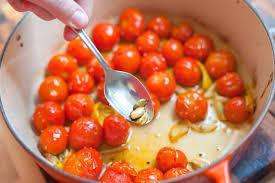 cardamom roasted tomato pasta recipe
