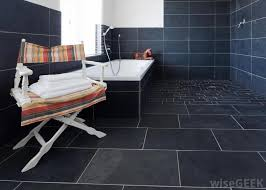 what are the different types of bathroom tile patterns