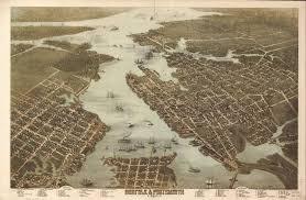 Richmond Va Map Virginia Vintage Panoramic Maps Collection On Cd Ebay