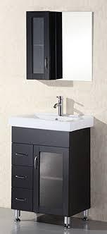 Oslo Bathroom Furniture Design Element Oslo Single Porcelain Integrated Drop In Countertop