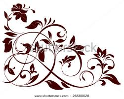 14 vector floral ornaments free vector stock