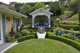 San Francisco Backyard Pavilion Plans Pool Mediterranean With