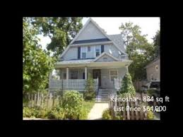 homes for sale under 1000 sq ft in kenosha county wisconsin on