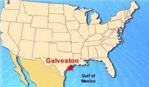 map of galveston galveston island galveston map