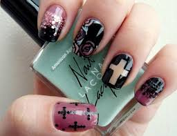 24 best cross nails images on pinterest cross nails crosses and