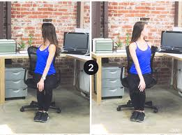 Office Workouts At Your Desk by Office Workout 6 Yoga Poses To Do At Your Desk