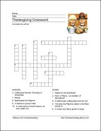 best 25 thanksgiving crossword puzzle ideas on