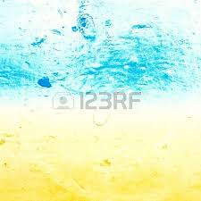 abstract sea water textured background in old grunge style blue