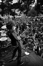 Jimi Hendrix Quotes Love by Jimi Hendrix Performing Onstage At A Free Concert In The Panhandle