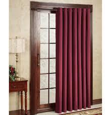 Sliding Glass Door Draperies Interior Grommet Dark Sliding Doors Drapery Combined White Sheer