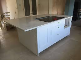 bespoke kitchen island cimstone olympos quartz bespoke kitchen island bespoke surfaces
