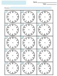 free blank clock faces worksheet by the math magazine tpt