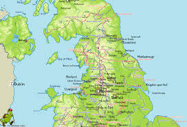 Map Of Yorkshire England by Unitedkingdom M Gif