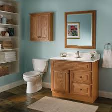 Bathroom Furniture Oak Oak Bathroom Cabinets Of Kitchen Picture Paint Color View