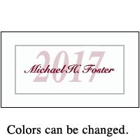 graduation name cards class of 2018 and photo namecards