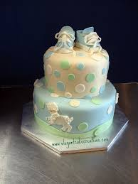 Elegant Baby Shower by Lamb Theme Baby Shower Baby Boy Shower Cake With A Lamb Th U2026 Flickr