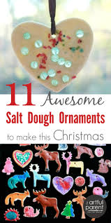Homemade Christmas Tree Decorations Dough 11 Salt Dough Ornaments Kids Can Make Fun Twists On The Traditional