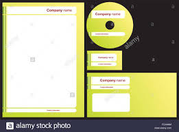 Business Card And Letterhead Business Package With Business Card Letterhead Envelope And Cd