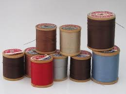 Upholstery Thread Antique Vintage Sewing Notions Ribbon Trims Lace Buttons