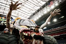monster truck show houston monster jam pit party houston chronicle
