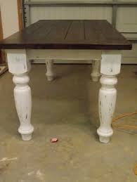Best  Farmhouse Table Legs Ideas Only On Pinterest Kitchen - Kitchen table legs