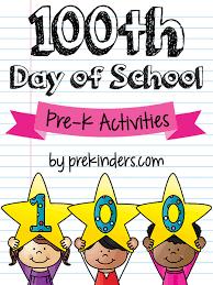 100 days of in pre k prekinders