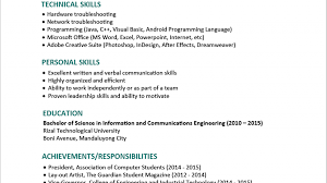 resume format word doc itrofessional resume format download free in ms word for freshers