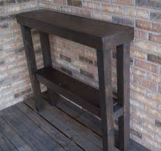 best 25 rustic sofa tables ideas on pinterest natural