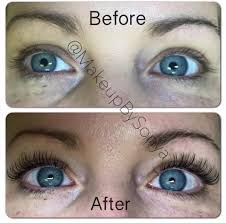 Do Eyelash Extensions Ruin Your Natural Eyelashes Lashes By Sonya Polus Eyelash Extensions Make Such A Difference